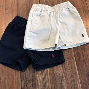 Set of two polo shorts!